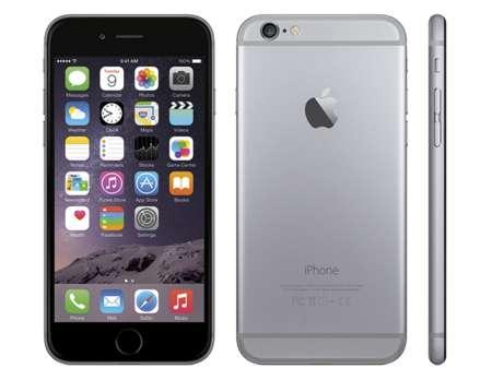 Imagen iphone 6 en color gris