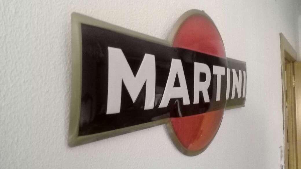 Imagen producto Cartel chapa Martini 4