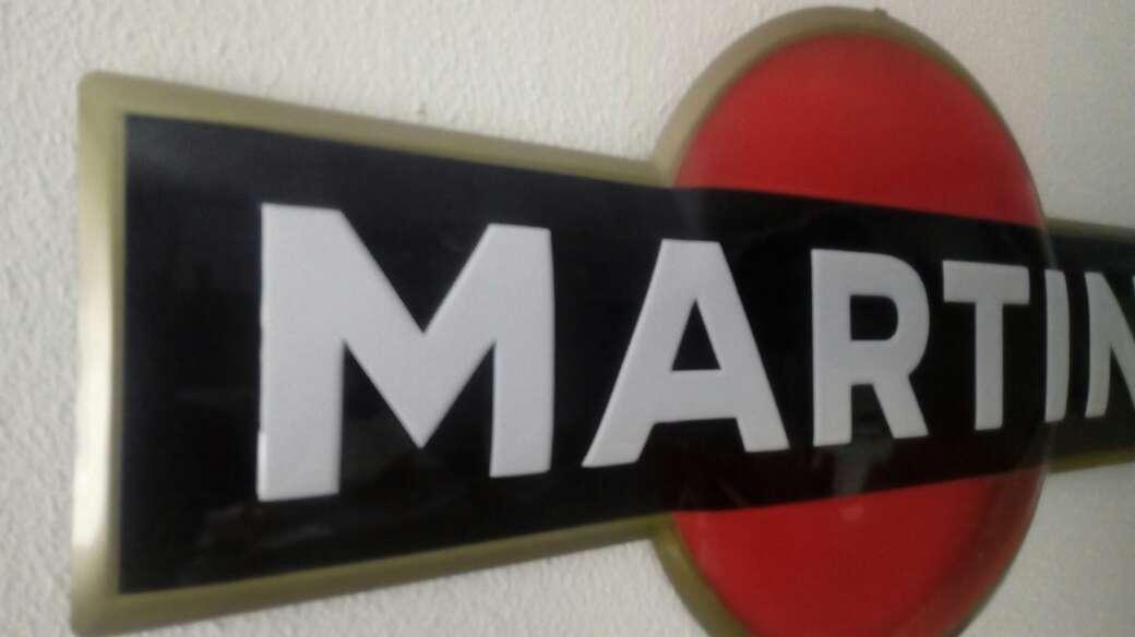 Imagen producto Cartel chapa Martini 2