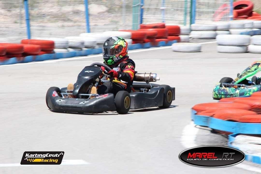 Imagen Kart 4 tiempos de 200cc infantil
