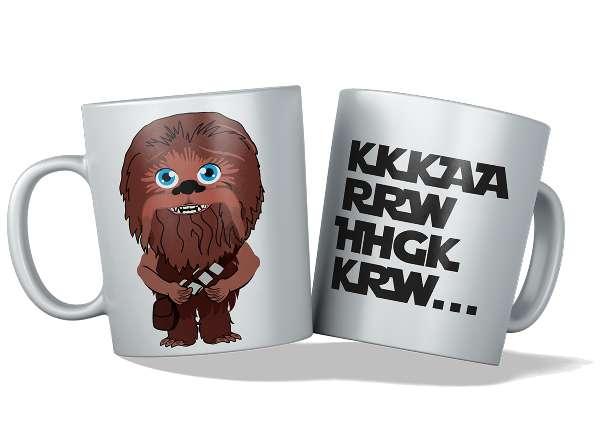 Imagen tazas personalizadas y originales, chewbacca