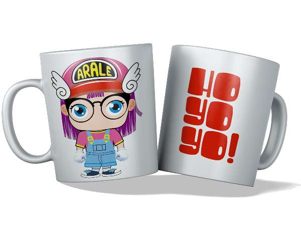Imagen tazas personalizadas y originales, Arale