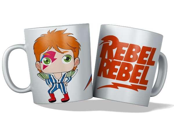 Imagen tazas personalizadas y originales, Bowie
