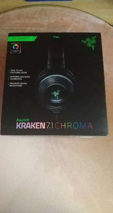 Imagen Cascos Razer Kraken 7.1 CHROMA