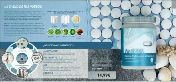 Imagen Wellness calcium & Vitamin D