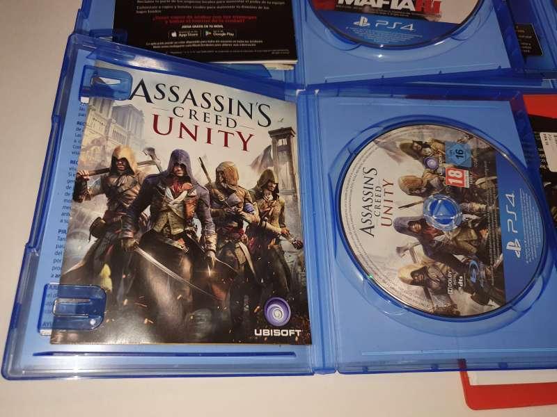 Imagen producto Lote De 4 Juegos Para PlayStation 4, PS4 4