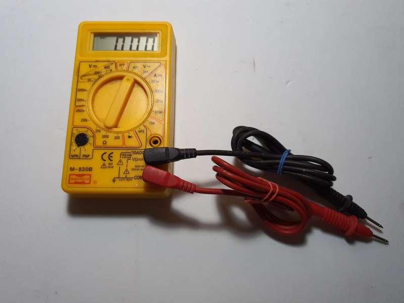 Imagen producto Polímetro Completo, Multímetro Electrónico 4