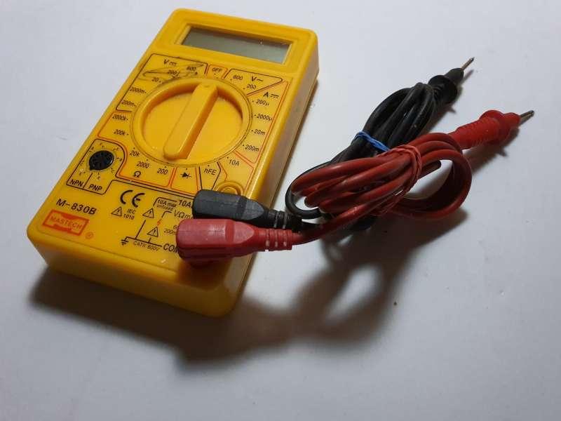 Imagen producto Polímetro Completo, Multímetro Electrónico 3