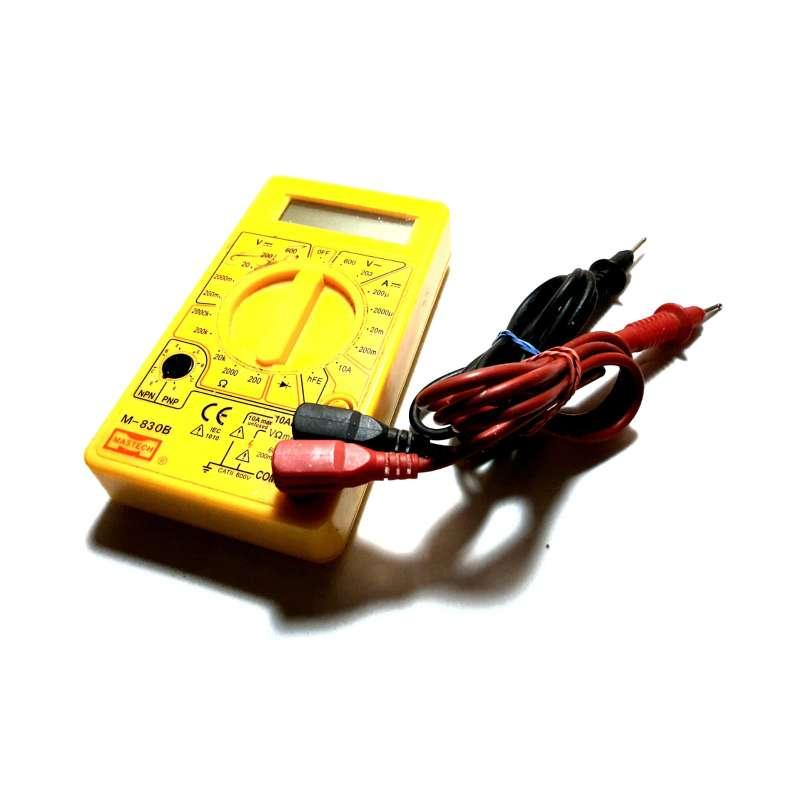 Imagen Polímetro Completo, Multímetro Electrónico