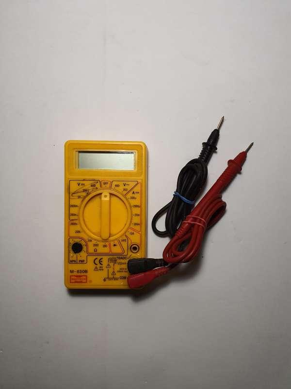 Imagen producto Polímetro Completo, Multímetro Electrónico 2