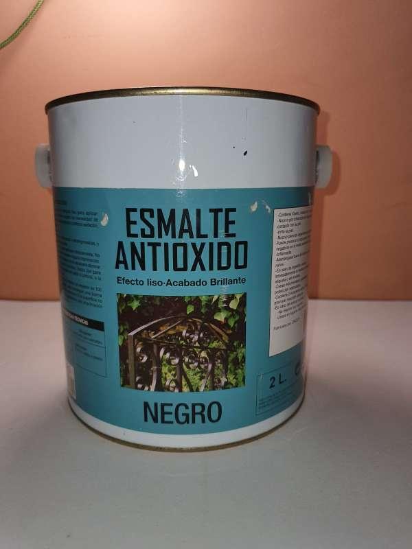 Imagen producto Bote De Pintura Antioxido Negro, 2L 2