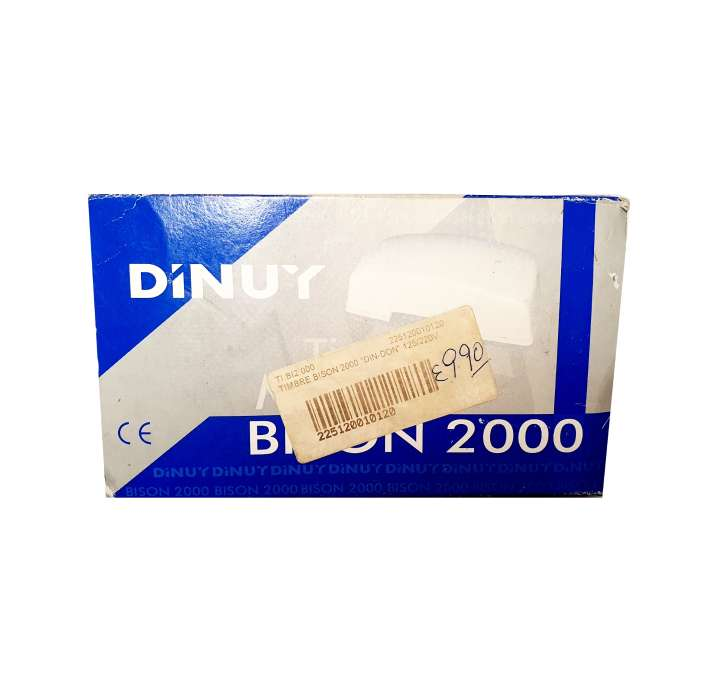 Imagen Timbre Bison 2000 Nuevo, Din-Don