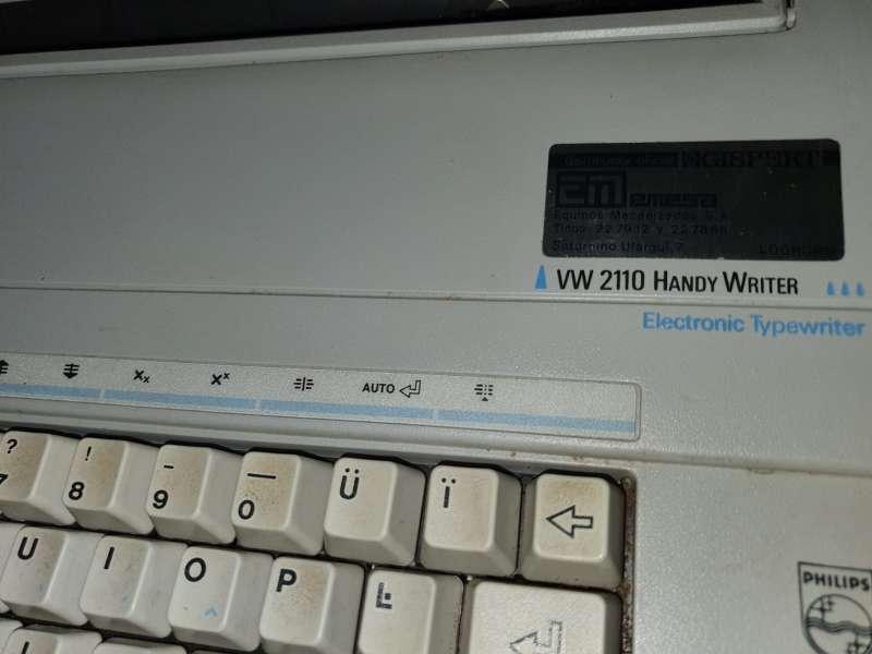 Imagen producto Máquina De Escribir Philips Portátil 4