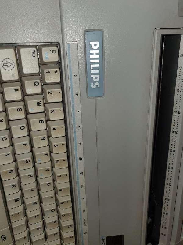 Imagen producto Máquina De Escribir Philips Portátil 3