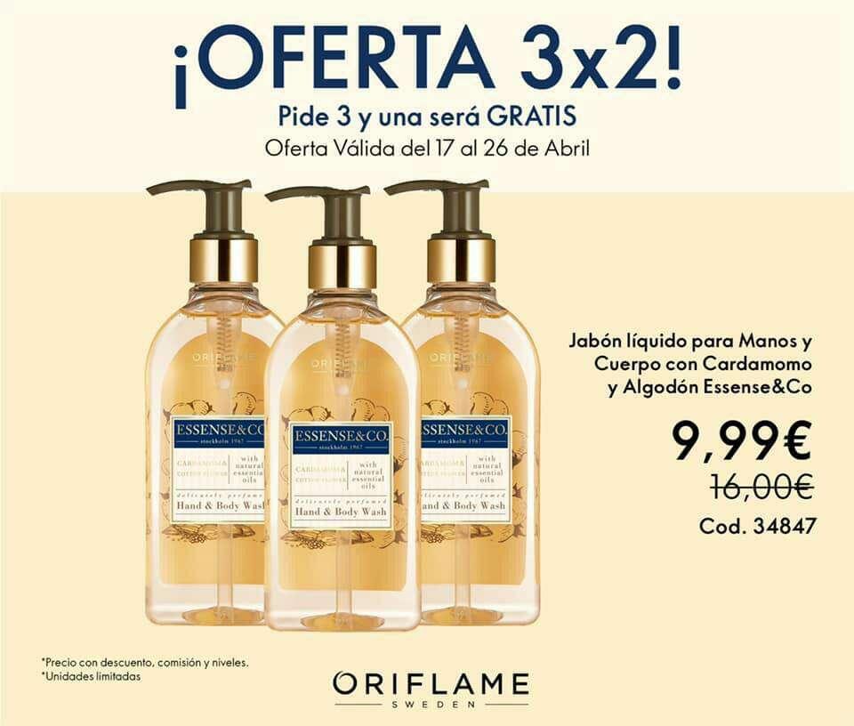 Imagen Último día de las ofertas 3x2 de Oriflame