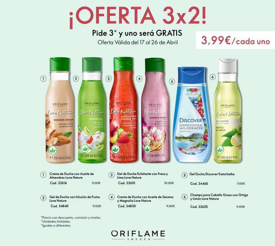 Imagen producto Último día de las ofertas 3x2 de Oriflame  2