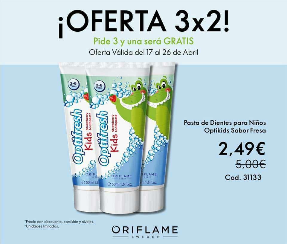 Imagen producto Último día de las ofertas 3x2 de Oriflame  5