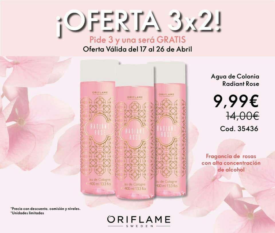 Imagen producto Último día de las ofertas 3x2 de Oriflame  3