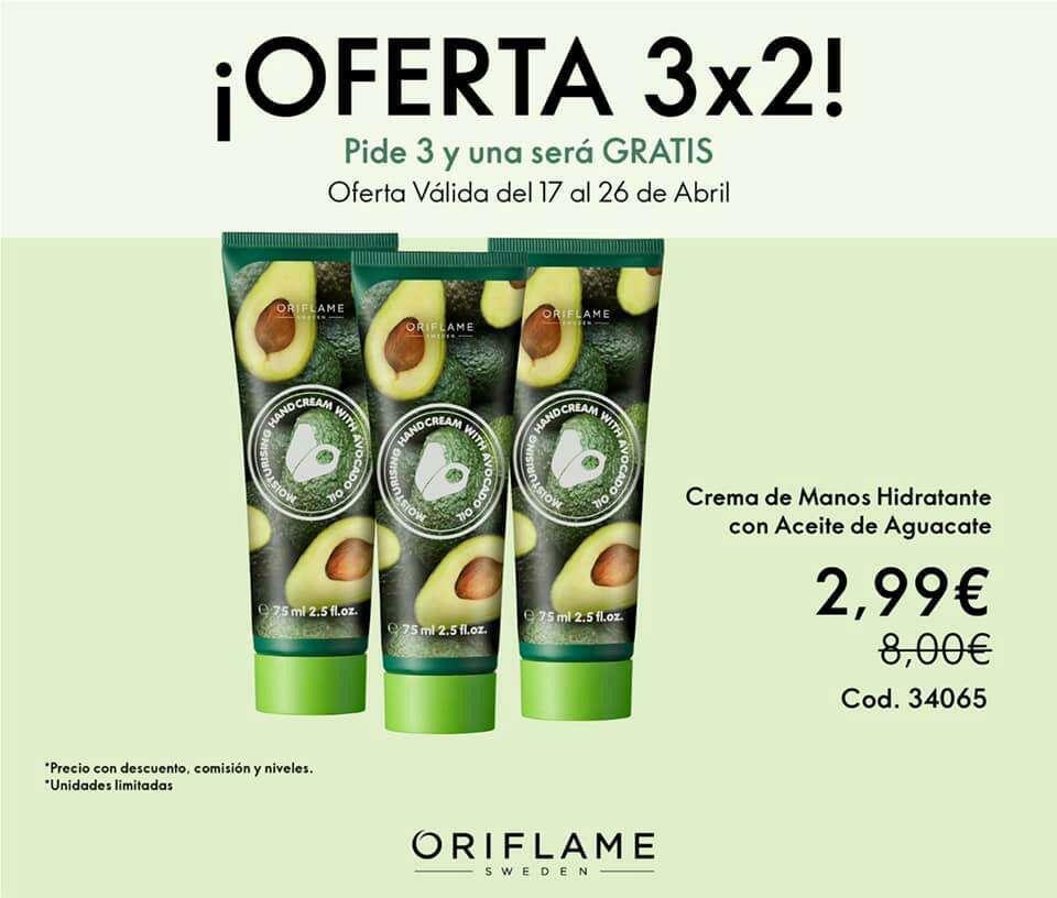 Imagen producto Último día de las ofertas 3x2 de Oriflame  4