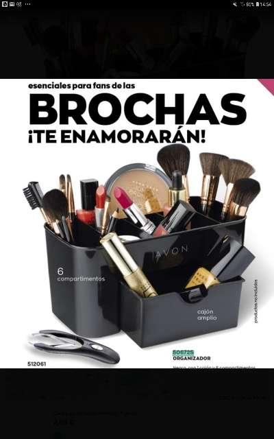 Imagen organizador de maquillaje