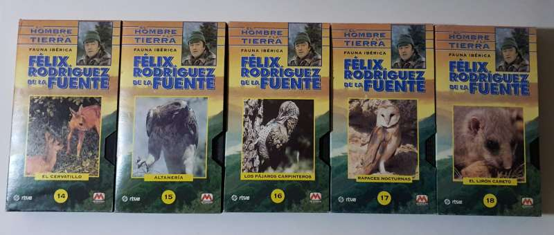 Imagen producto 15 Películas De Félix Rodríguez De La Fuente 2