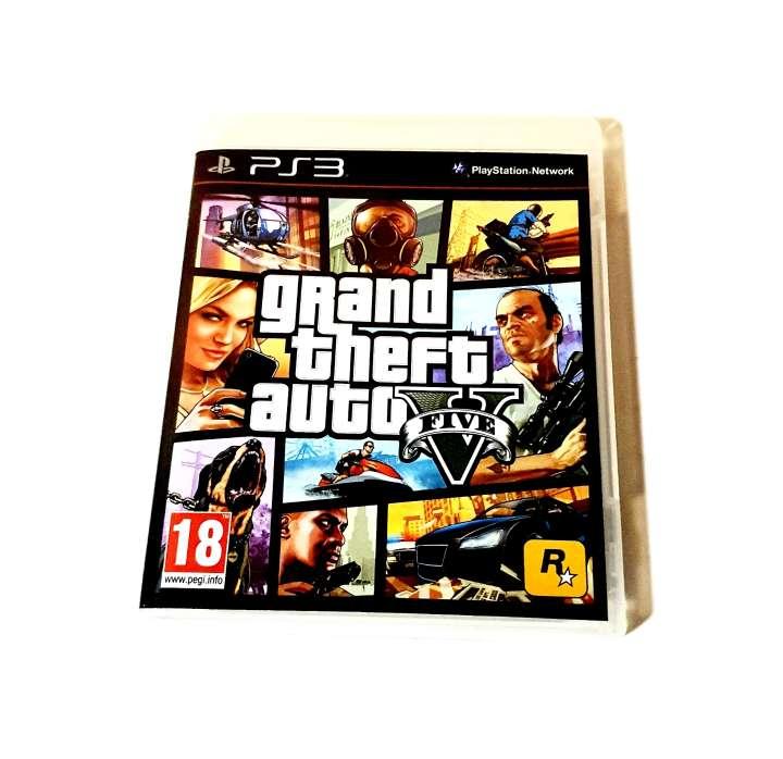 Imagen Carátula + Guía GTA 5 Para PS3