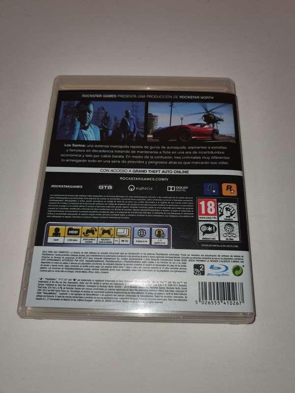 Imagen producto Carátula + Guía GTA 5 Para PS3 3