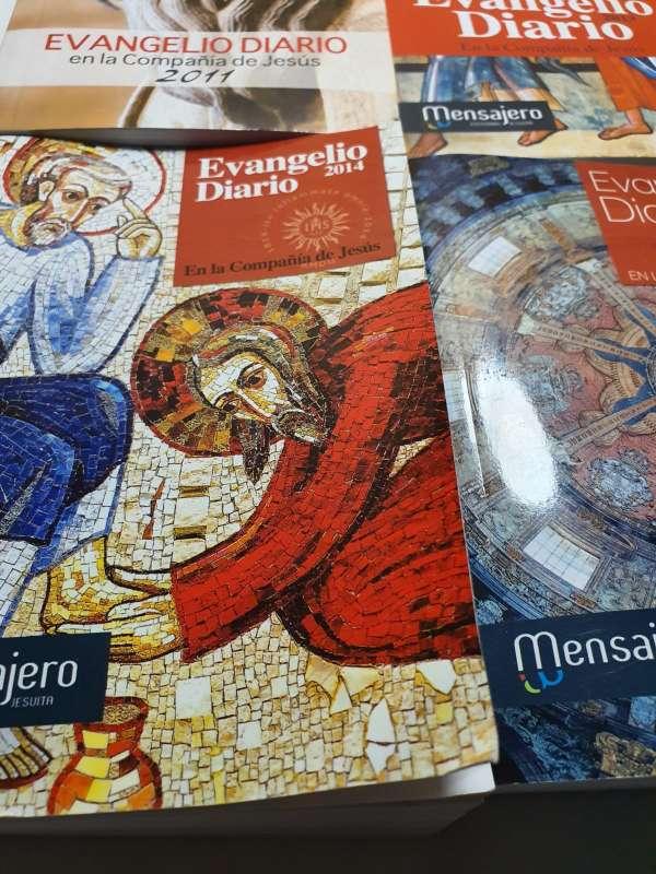 Imagen producto Lote De 4 Libros, Evangelio Diario Anual 7