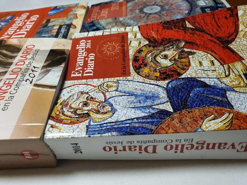 Imagen producto Lote De 4 Libros, Evangelio Diario Anual 8