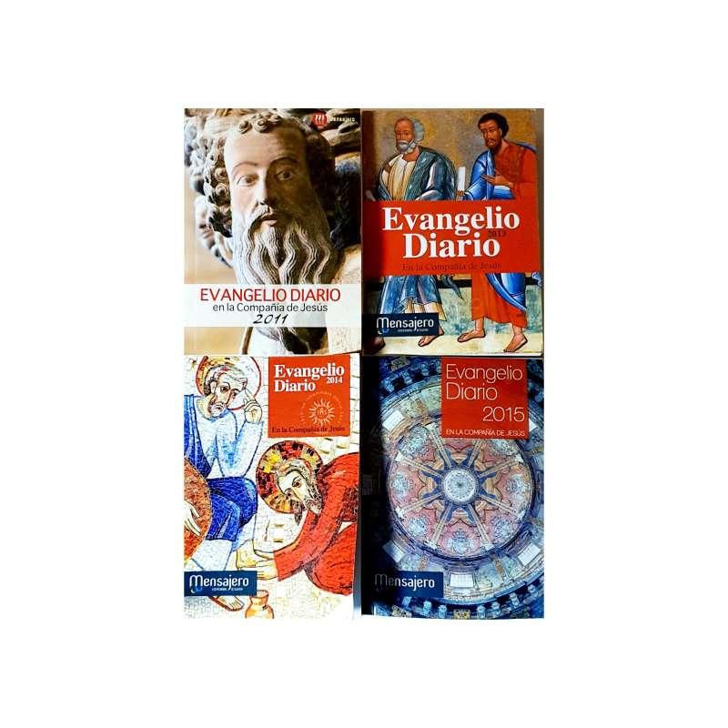 Imagen Lote De 4 Libros, Evangelio Diario Anual