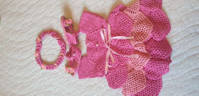 Imagen producto Vestido de 3-6 meses  2