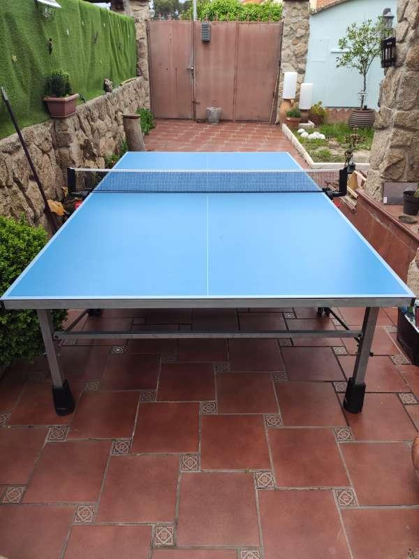 Imagen producto Vendo mesa pin pong prácticamente nueva.  2