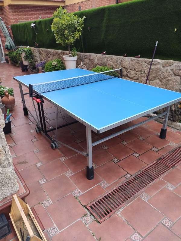 Imagen producto Vendo mesa pin pong prácticamente nueva.  6