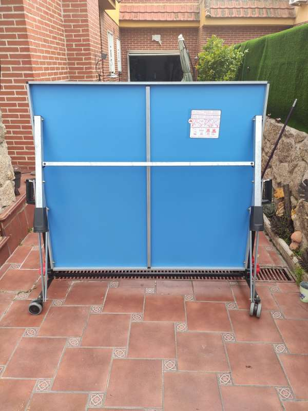 Imagen producto Vendo mesa pin pong prácticamente nueva.  5
