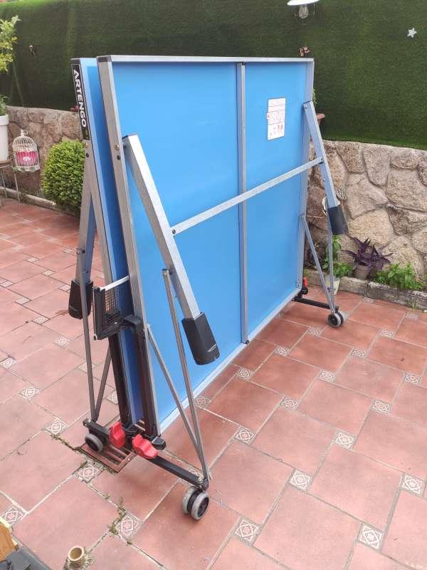 Imagen producto Vendo mesa pin pong prácticamente nueva.  4