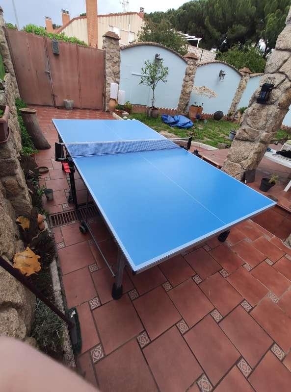Imagen producto Vendo mesa pin pong prácticamente nueva.  8