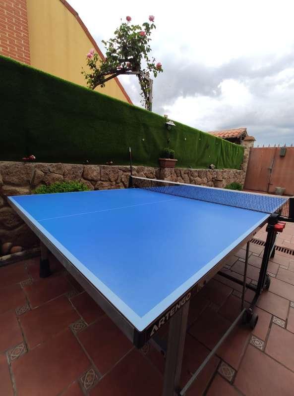Imagen producto Vendo mesa pin pong prácticamente nueva.  7