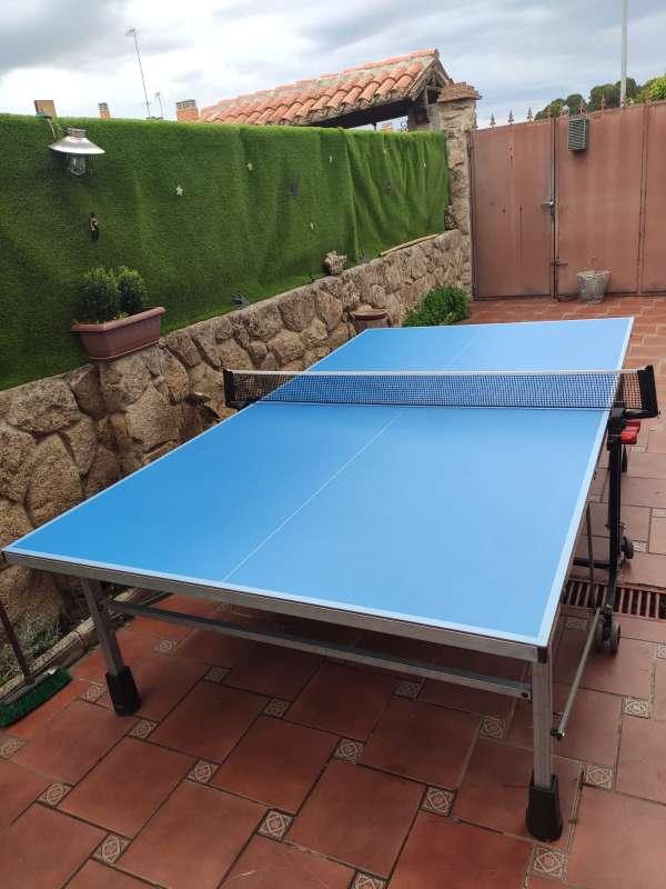 Imagen producto Vendo mesa pin pong prácticamente nueva.  9