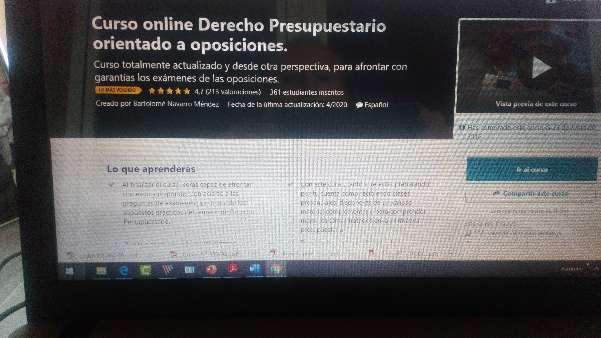 Imagen Curso online de Derecho Presupuestario