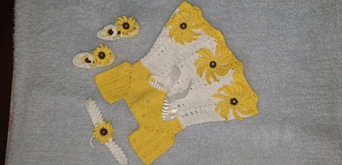 Imagen producto Vestido de niña 0-3 meses  1
