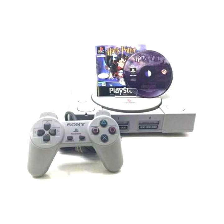Imagen PlayStation 1 + Mando + Videojuego Harry Potter