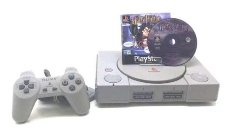 Imagen producto PlayStation 1 + Mando + Videojuego Harry Potter 3