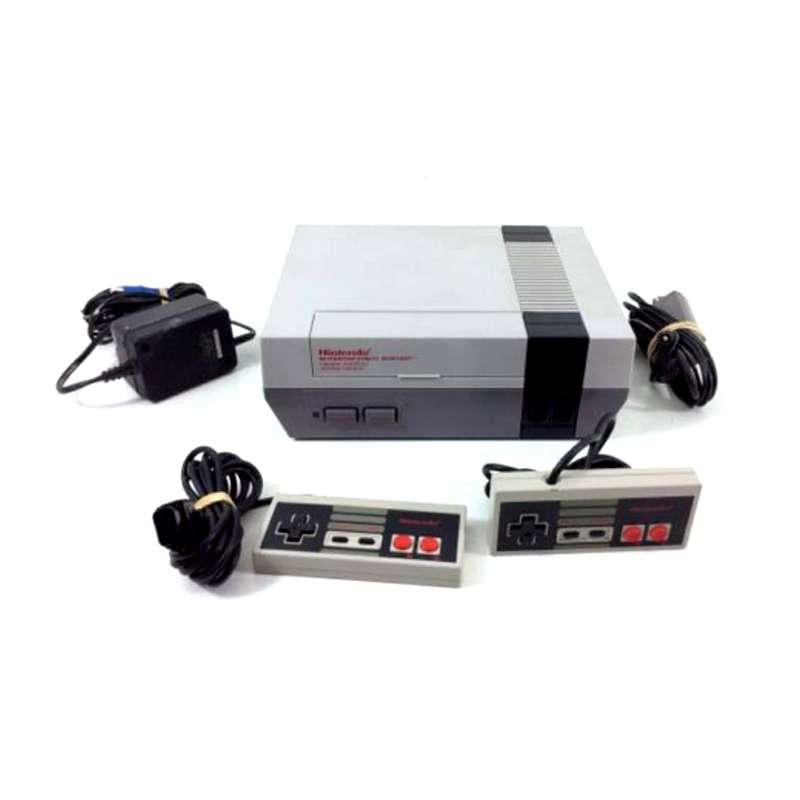 Imagen producto Nintendo Nes  Con 2 Mandos 3