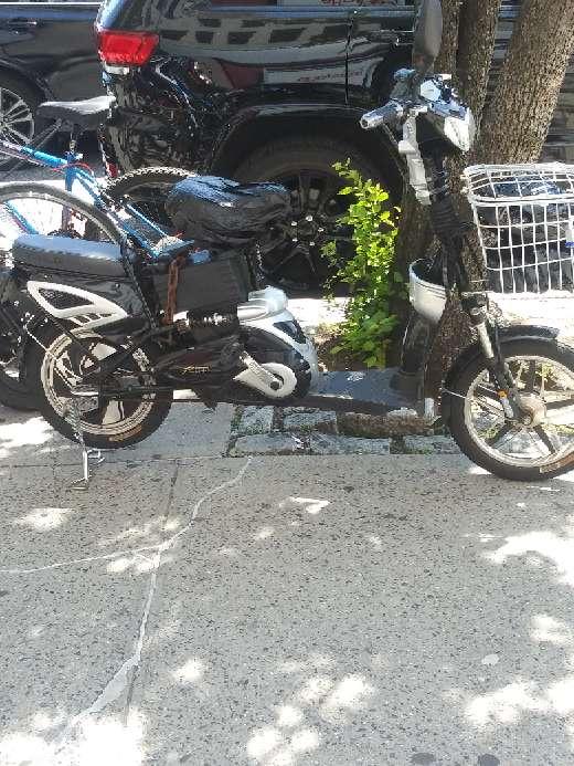 Imagen  moto electrónica