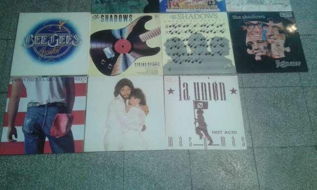 Imagen vario discos LP.