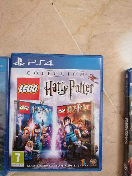Imagen producto Set cuatro juegos ps4 5