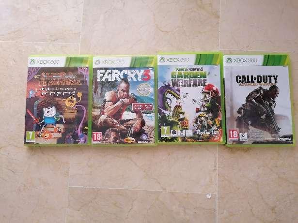 Imagen Set 4 juegos Xbox 360