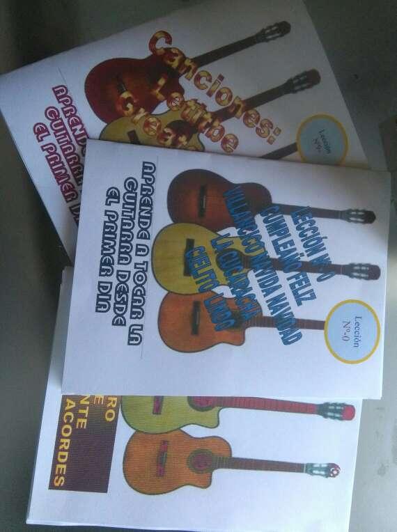 Imagen producto 5 libros curso Guitarra facil 1