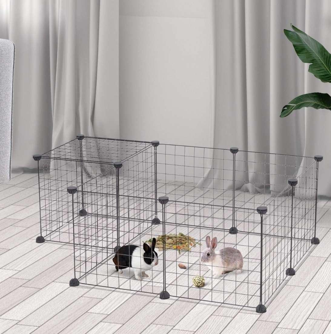 Imagen producto Parque De Juegos Para Mascotas, Corral De Mascota 2