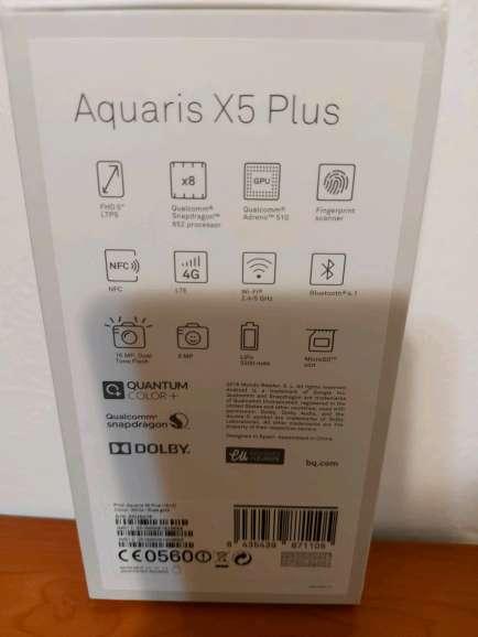Imagen producto Bq aquaris X5 plus 3
